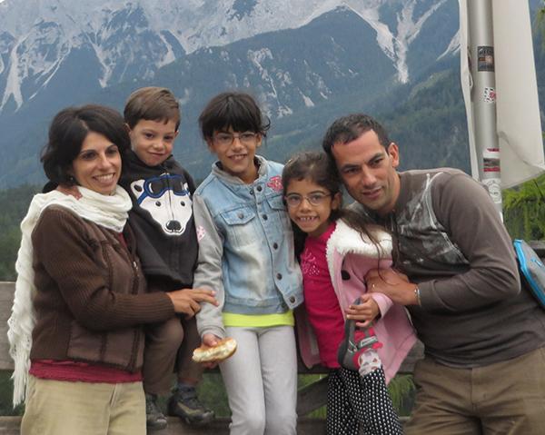 משפחת חדד יצאה לטיול משפחות בקראוונים עם נוהגים לטייל גלבוע