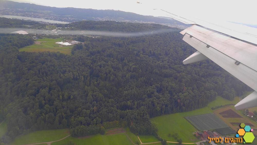 היער השחור טיסה