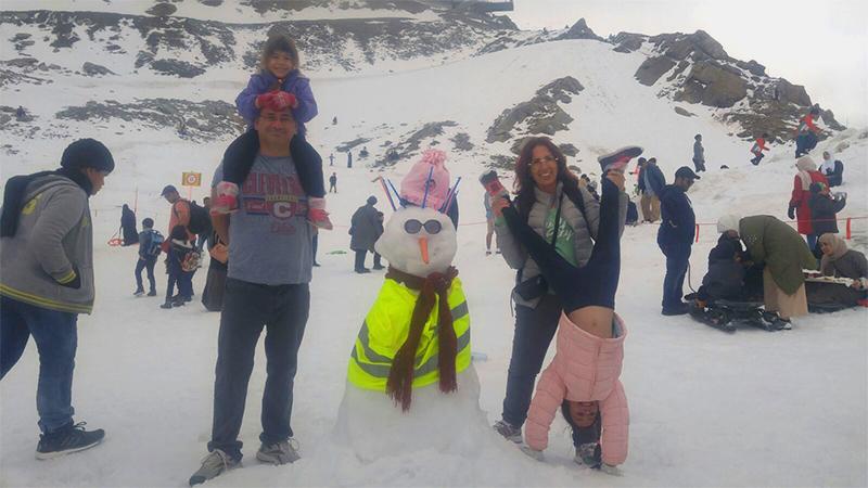 אטרקציית שלג אירופה