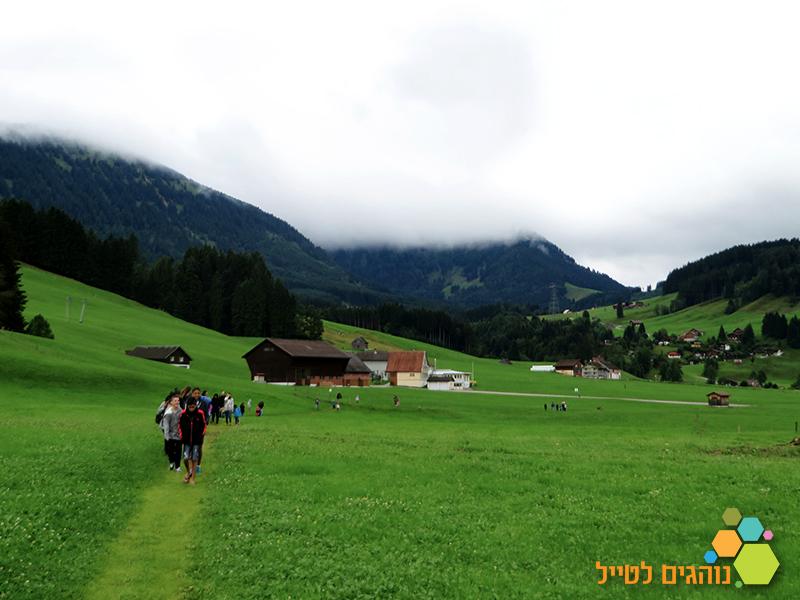 טיול עם ילדים בשווייץ